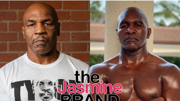 "Mike Tyson Wants To Get Back In The Ring With His Old Rival Evander Holyfield, ""I'd Love To Do It"""