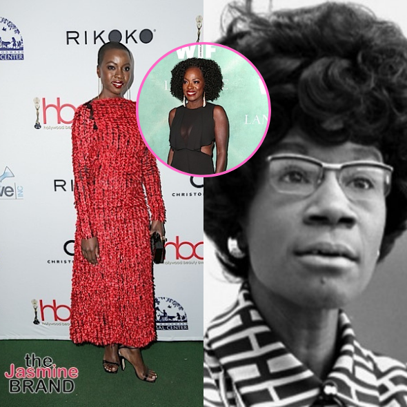 Danai Gurira Tapped To Star In 'The Fighting Shirley Chisholm' Film, Replacing Viola Davis