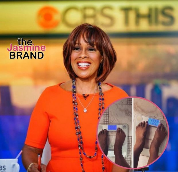 Gayle King Posts Weight Loss Results But Asks Fans To Leave Her Feet Out Of The Conversation