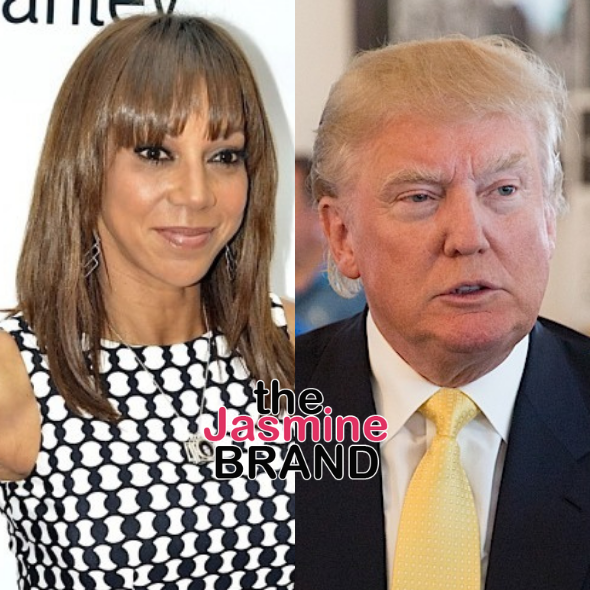 Holly Robinson Peete Says Donald Trump Called Her The N Word On 'Celebrity Apprentice'