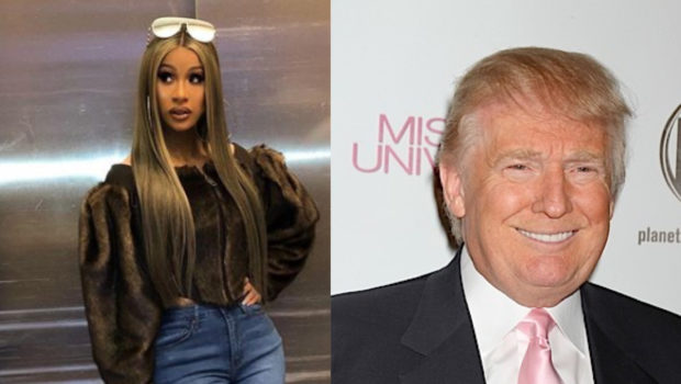 Cardi B Says Trump Supporters Threatened To Burn Her House Down