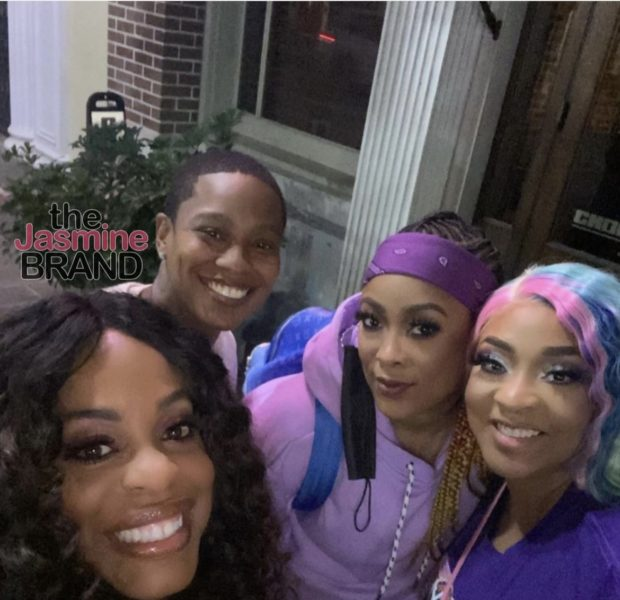 Niecy Nash & Her Wife Go On Double Date With Da Brat & Girlfriend Jessica Dupart