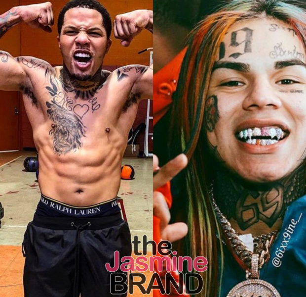 Gervonta Davis & Tekashi 6ix9ine Get Into Heated Exchange At Club