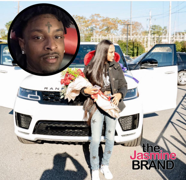 21 Savage Gifts King Von's Sister With A Brand New Range Rover