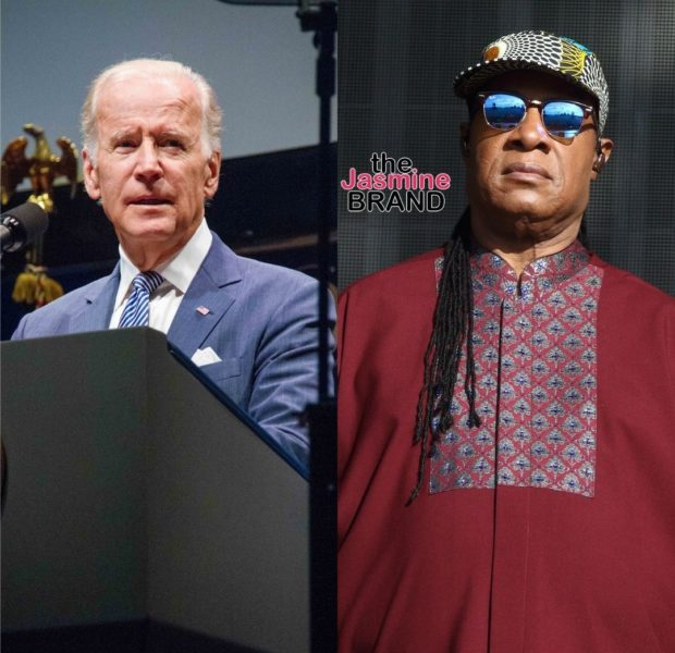 Stevie Wonder Says 'Give Us Reparations, I Know Joe Biden Will Do It'