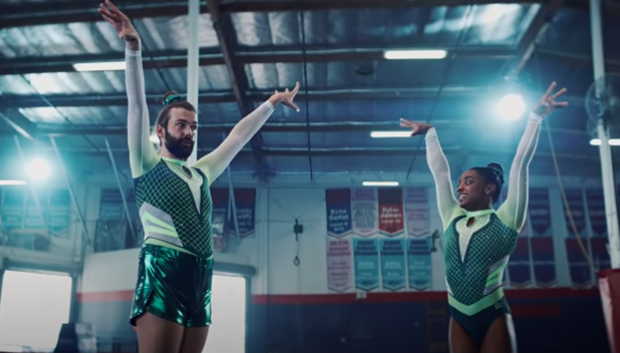 Simone Biles Defends Commercial W/ 'Queer Eye' Star Jonathan Van Ness After Backlash: I'd Do 1 Million More W/ You Just To Piss Everyone Off!