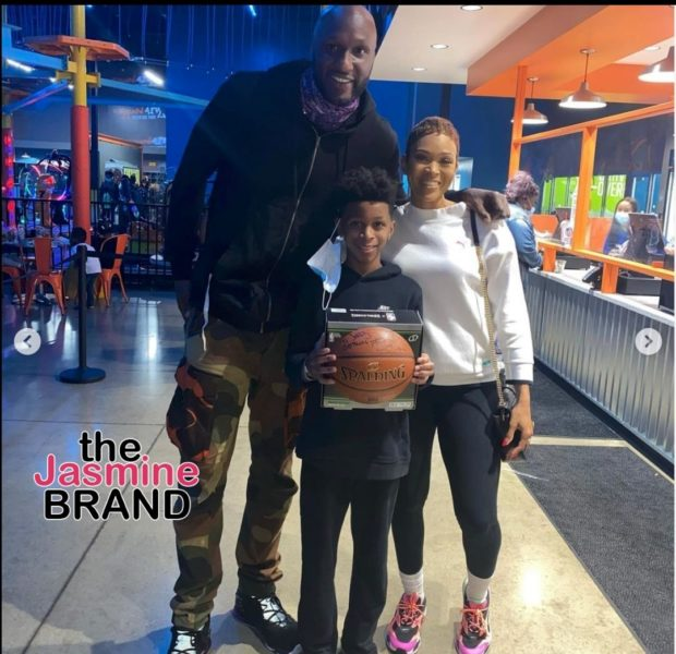 Lamar Odom Helps Teen Whose Mother Was Murdered, Celebrate His 14th Birthday