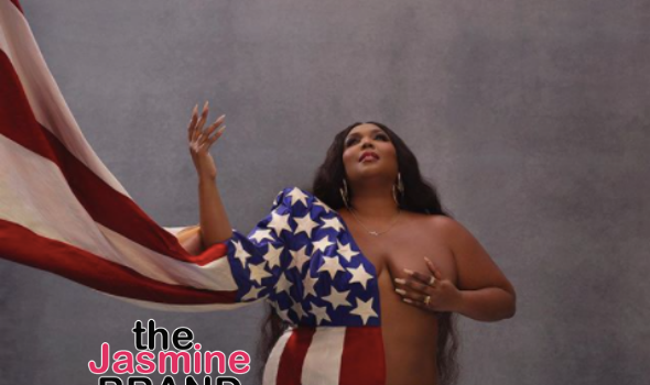 Lizzo Dons American Flag With A Powerful Message About Voting