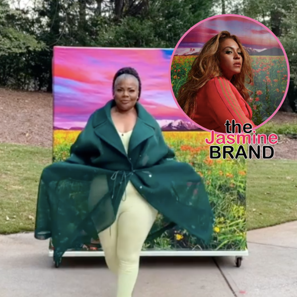 Mo'Nique Shows Off Beyonce's Ivy Park Line: You Did That!