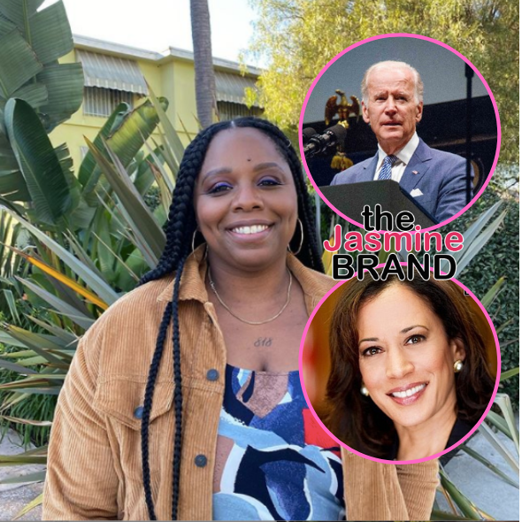 Black Lives Matter Co-Founder Wants To Meet W/ Joe Biden & Kamala Harris, Tells Them 'We Want Something For Our Vote'