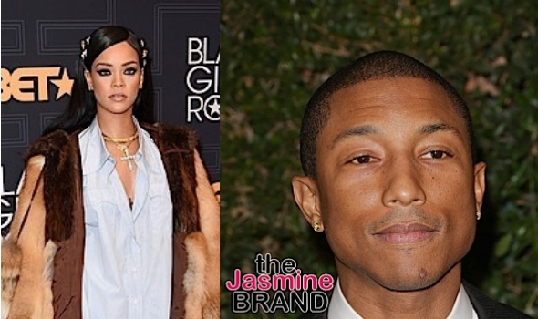 Pharrell Williams Says Rihanna Is 'From A Different World' On New Album