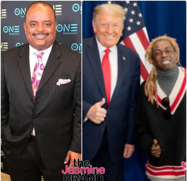 EXCLUSIVE: Roland Martin Criticizes Lil Wayne For Endorsing Donald Trump: It's Beyond Stupid