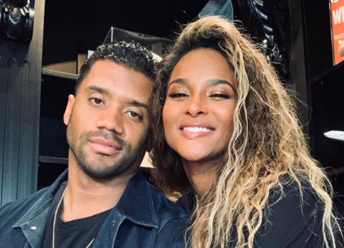 """Russell Wilson Tells Ciara """"You Smell Like You About To Get Pregnant Again"""", As They Promote Their New Fragrance"""