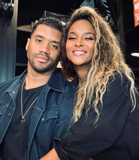 "Russell Wilson Tells Ciara ""You Smell Like You About To Get Pregnant Again"", As They Promote Their New Fragrance"