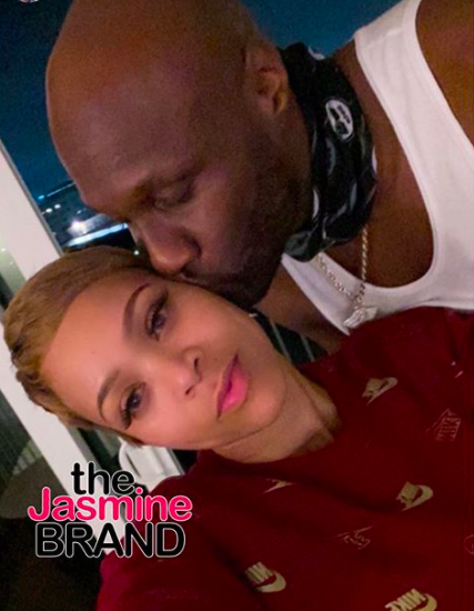 Lamar Odom & Sabrina Parr Celebrate 1-Year Engagement A Week After Calling Off Their Wedding