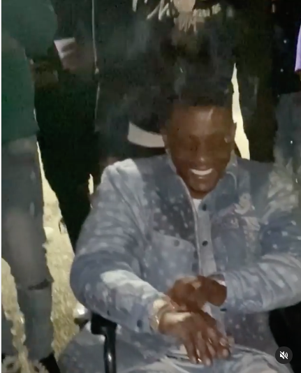 Rapper Boosie Spotted At South Carolina Club In A Wheelchair Partying, Despite Recent Gunshot Injury [VIDEO]