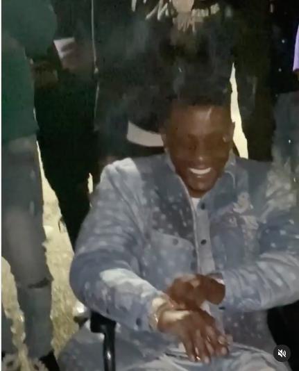 Rapper Boosie Spotted At South Carolina Club In A Wheelchair Partying, Despite Recent Gunshot Injury [VIDEO]