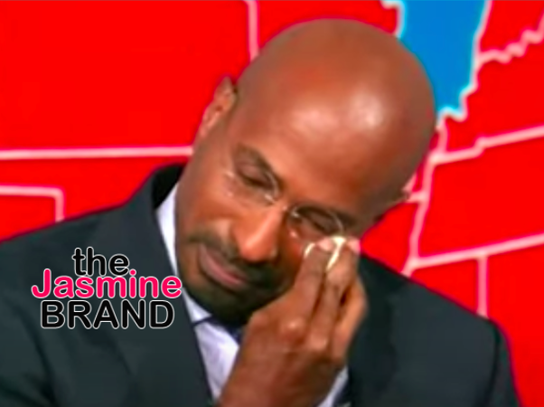Van Jones In Tears As He Reacts To Joe Biden Winning Presidency: It's Vindication For A Lot Of People Who Have Really Suffered