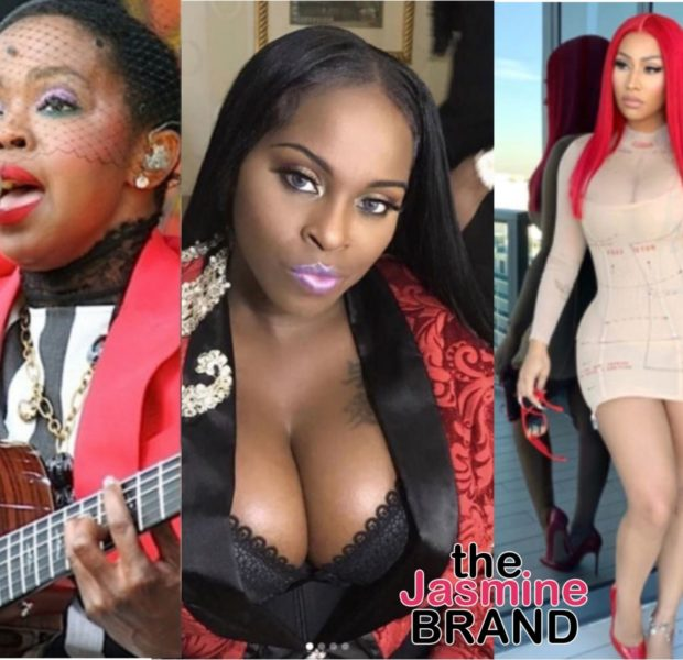 Foxy Brown Posts Cryptic Message Paying Homage To Nicki Minaj & Foxy Brown