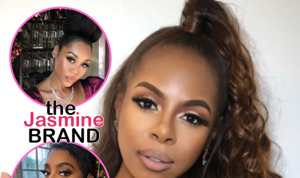 Candiace Dillard Refuses To Film With Monique Samuels + Tells Porsha Williams 'You Look & Sound Stupid