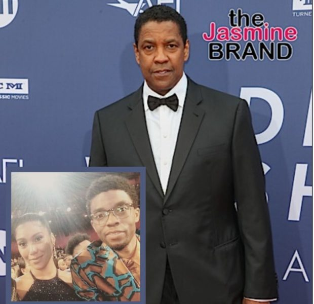 Denzel Washington Says He Told Chadwick Boseman To Marry His Wife Simone Ledward After Seeing Her Care For Him On Set