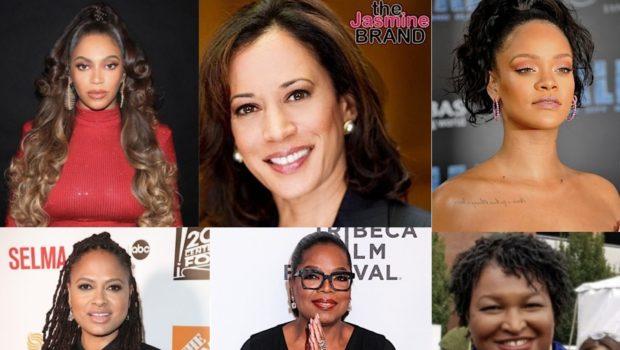 Beyonce, Kamala Harris, Rihanna, Ava DuVernay, Oprah & Stacey Abrams Make 100 Most Powerful Women In The World List