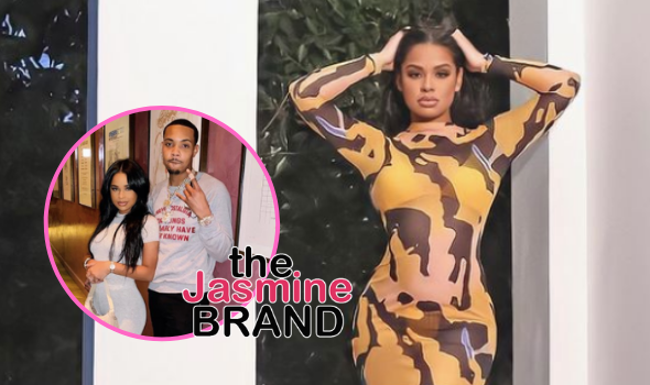 G-Herbo's Girlfriend Taina Williams Appears To Debut An Alleged Baby Bump!
