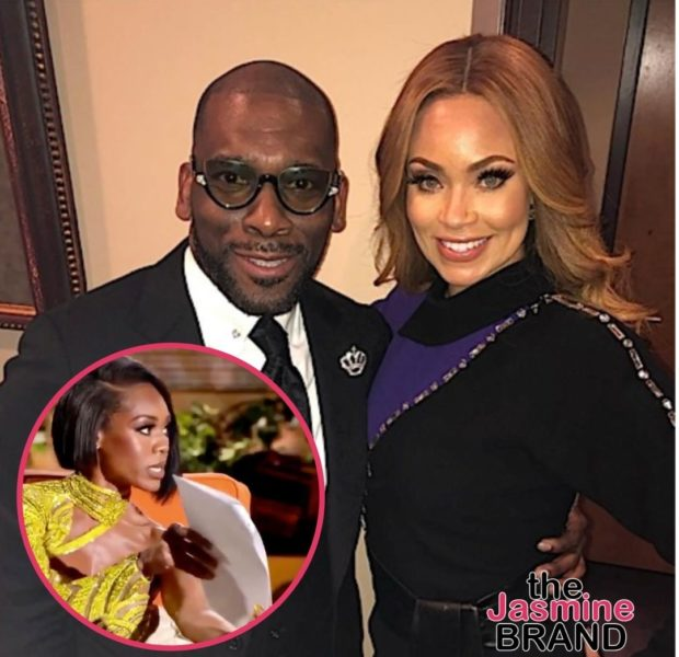 Gizelle Bryant Calls Monique Samuels' 'Binder Of Receipts' A  'Kindergarten Scrapbook Of Lies' + Jamal Bryant Possibly Reacts