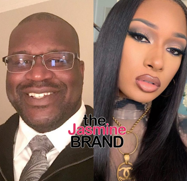 Shaq Shamelessly Flirts W/ Megan Thee Stallion: Watching that Booty