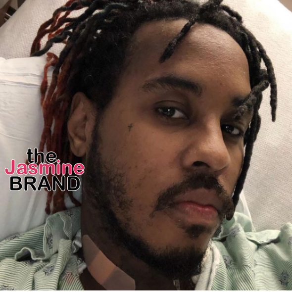 Jeremih Returns To Social Media After Battle W/ COVID-19, Shares Photo From The Hospital: Thank God I'm Still Here!