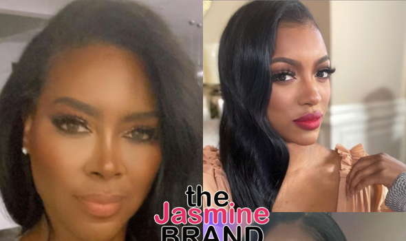 Kenya Moore Slams Porsha Williams: You Can't Educate Me On Anything But How To Install A Lacefront & Be A Freak + Calls Out Activist Tamika Mallory