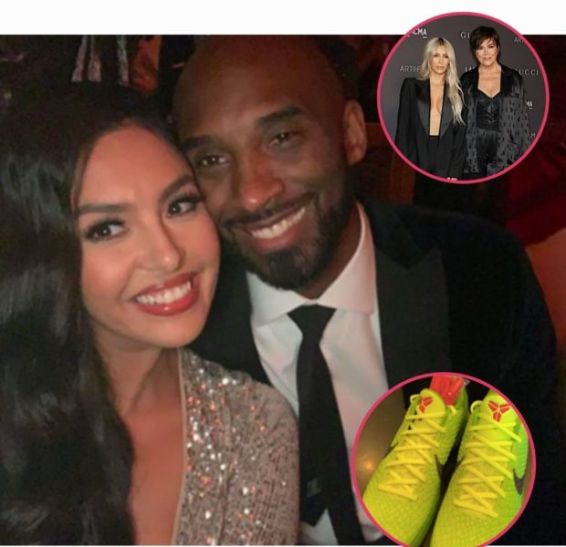 Vanessa Bryant Gifts Kim Kardashian & Kris Jenner With Limited-Edition Kobe Sneakers