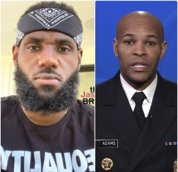 U.S. Surgeon General Jerome Adams Urges LeBron James To Take COVID-19 Vaccination Shot