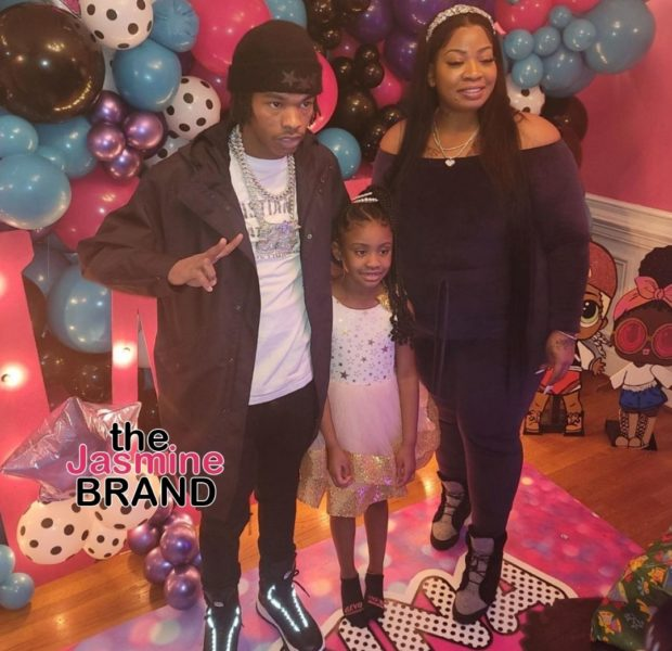 Lil Baby Helps Throw George Floyd's Daughter, Gianna A Pink Themed Party For Her 7th Birthday (PHOTOS)