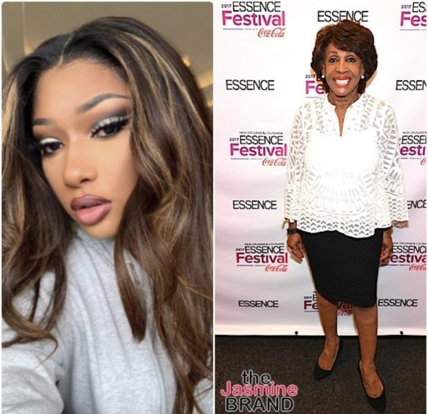 Megan Thee Stallion Gushes Over Letter Congresswoman Maxine Waters Sent Her
