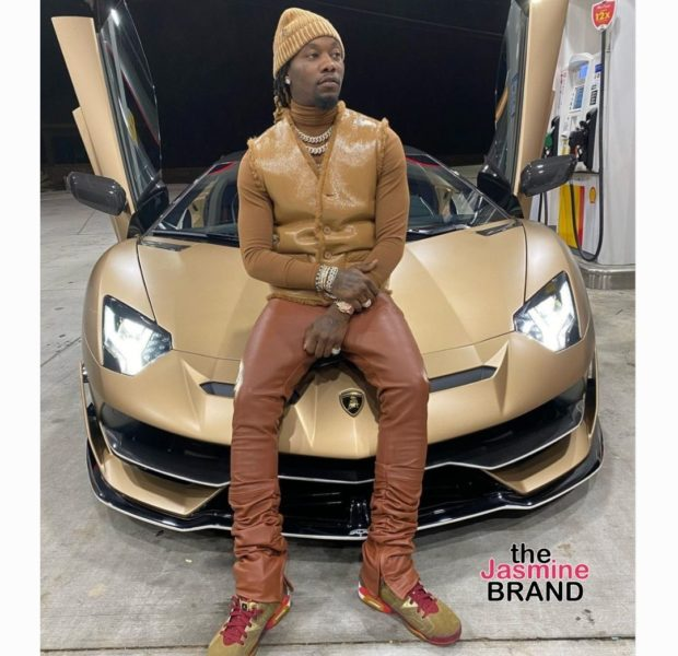 "Offset Tells Haters ""You Want My Life"" As He Poses In Front Of New Lamborghini"