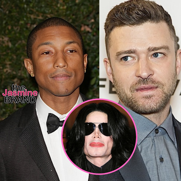Pharrell Reveals 'All But One' Song On Justin Timberlake's Debut Album Was Written For Michael Jackson But He Didn't Want Them