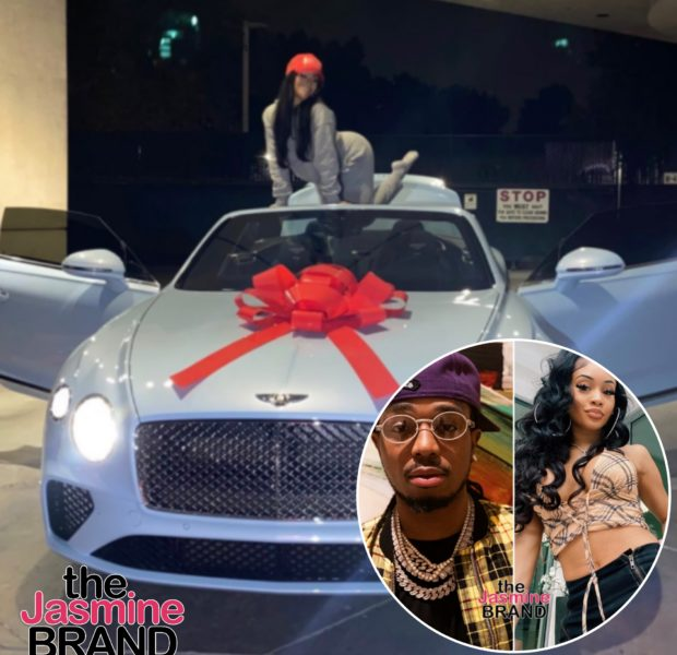 Quavo Buys His Girlfriend Saweetie A Bentley For Christmas + 'Tap In' Rapper Gets Her First Private Jet