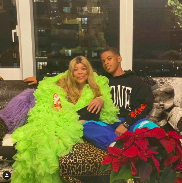 Wendy Williams Says 'Life Is Never Perfect', As She Poses With Son