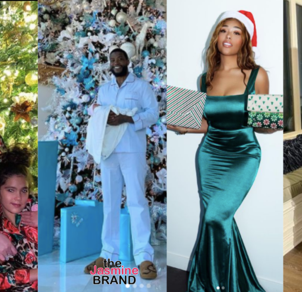 Celebrity Christmas Photos: Nicki Minaj, Mariah Carey, Kandi Burruss, Taraji P. Henson, Gucci Mane, DJ Khaled