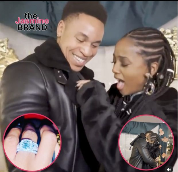 Rotimi Proposes To Girlfriend Vanessa Mdee (WATCH)