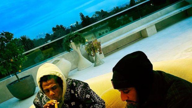 Jay-Z Spotted Smoking Cigars With Swizz Beatz [Photos]