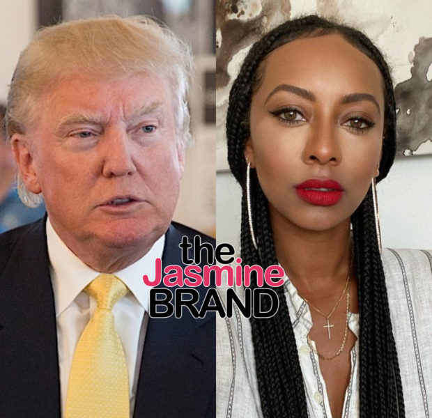 Keri Hilson Defends Free Speech, Seemingly Disagrees With Trump's Twitter Ban