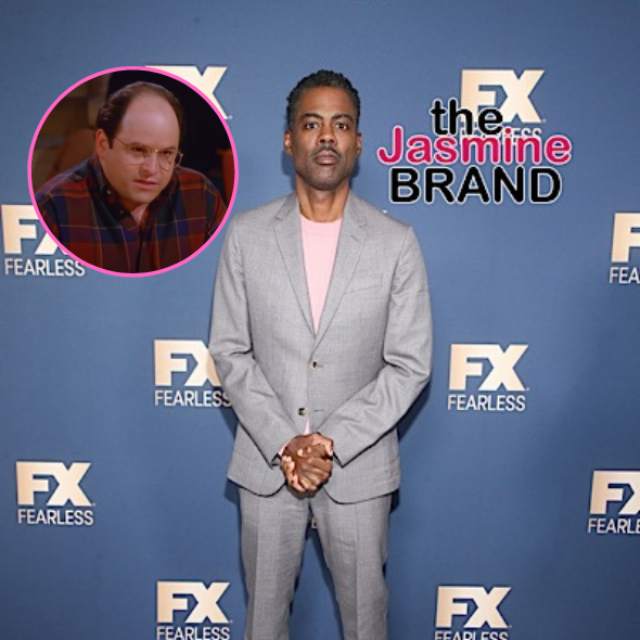Chris Rock Says He Was Considered To Play Jerry Seinfeld's Best Friend George Costanza on 'Seinfeld'
