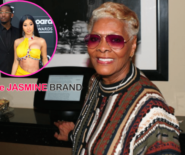 Dionne Warwick Praises Cardi B, Asks 'What Does Offset Mean?'