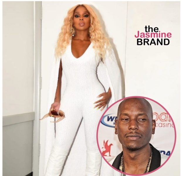 Mary J. Blige Blocks Tyrese From Grabbing Her Thigh In Viral Video [WATCH]