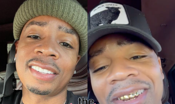 Plies Shows Off Smile After Burying His Gold Teeth
