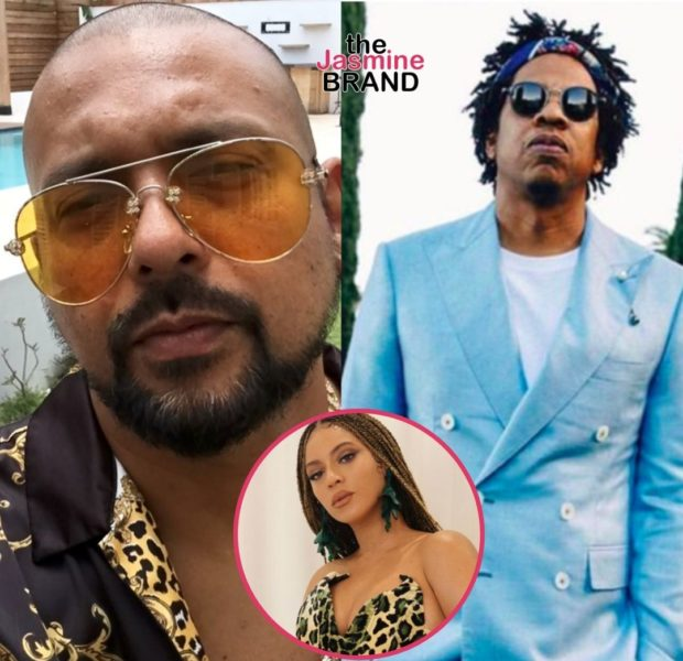 """Sean Paul Says Jay-Z Didn't Want Him Getting Too Close To Beyonce After Their Song """"Baby Boy"""""""
