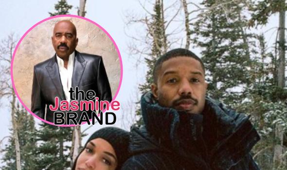 Steve Harvey Says He 'Likes' Stepdaughter Lori Harvey's Boyfriend Michael B. Jordan: I Still Got My Eye On Him