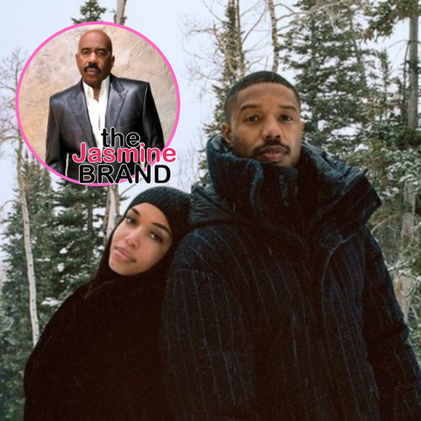 Steve Harvey On Michael B. Jordan Renting Out Aquarium For Lori Harvey: Good Luck Homie + Says He Met Actor's Father